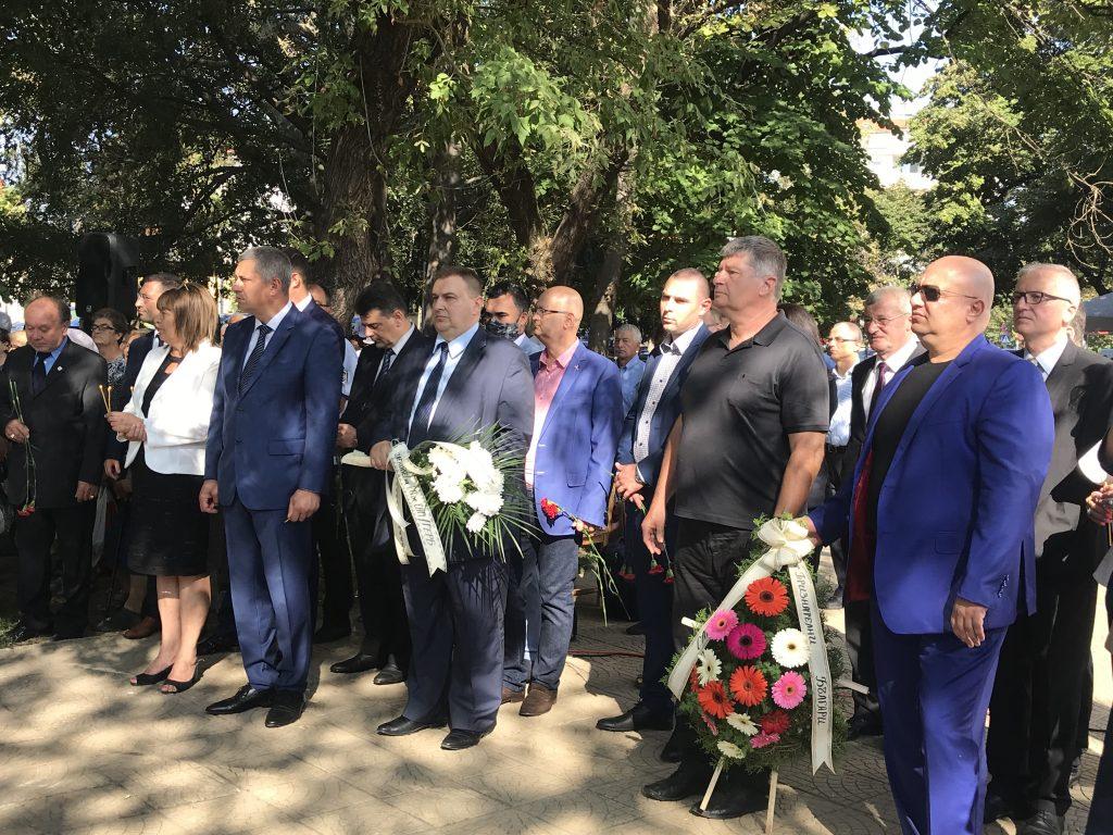 Eвродепутатът Емил Радев поздрави жителите на Силистра за празника на града